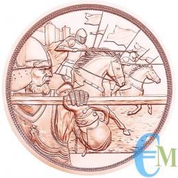Austria 2020 - 10 euro Cavalieri Templari ''Coraggio'' rovescio