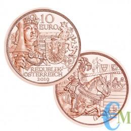Austria 2019 - 10 euro Cavalieri Templari ''Cavalleria''