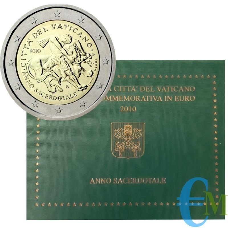 Vaticano 2010 - 2 euro Anno Sacerdotale