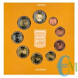 Spagna 2020 - Divisionale Euro Ufficiale - 9 valori