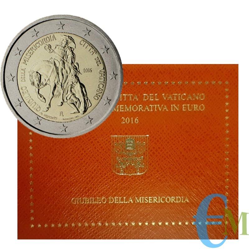 Vaticano 2016 - 2 euro Giubileo della Misericordia