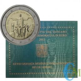 Vaticano 2013 - 2 euro...