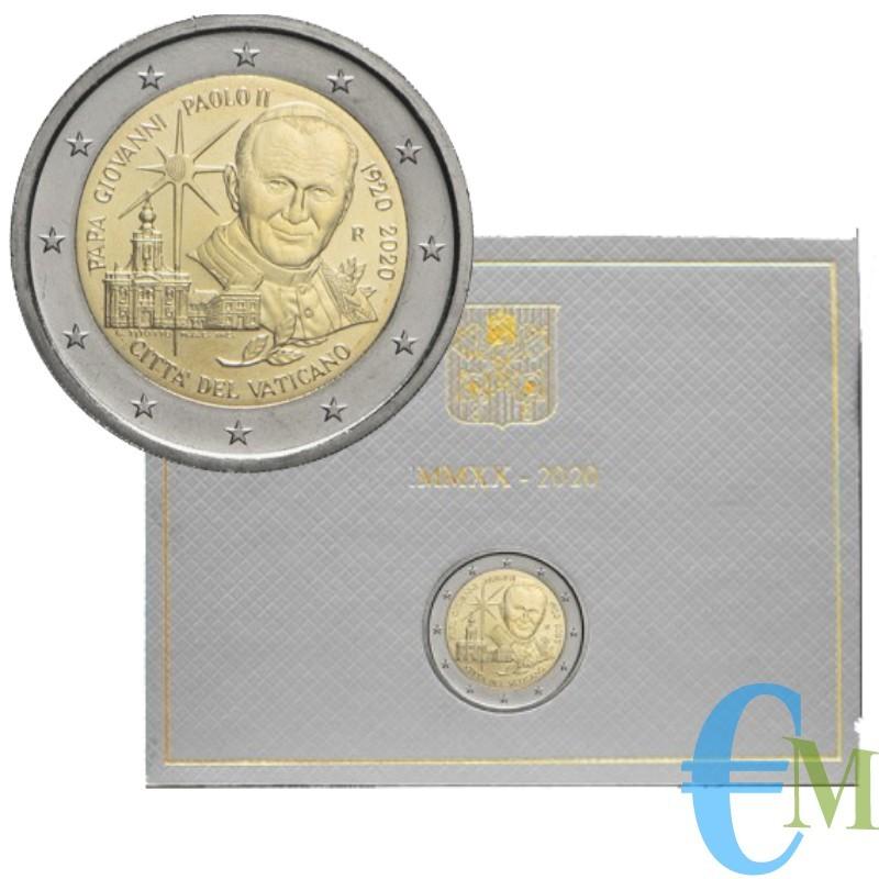 Vaticano 2020 - 2 euro 100° San Giovanni Paolo II