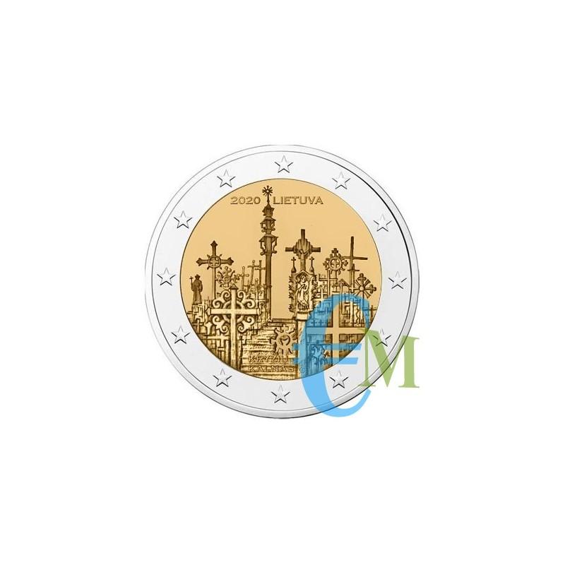 Lituania 2020 - 2 euro commemorativo Colline delle Croci