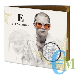 Elton John 2020 - 5£ moneta della serie Music Legends
