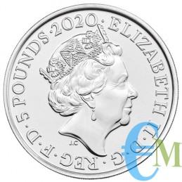 Elton John 2020 - 5£ moneta della serie Music Legends retro