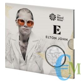 Elton John 2020 - 5£ moneta della serie Music Legends confezione