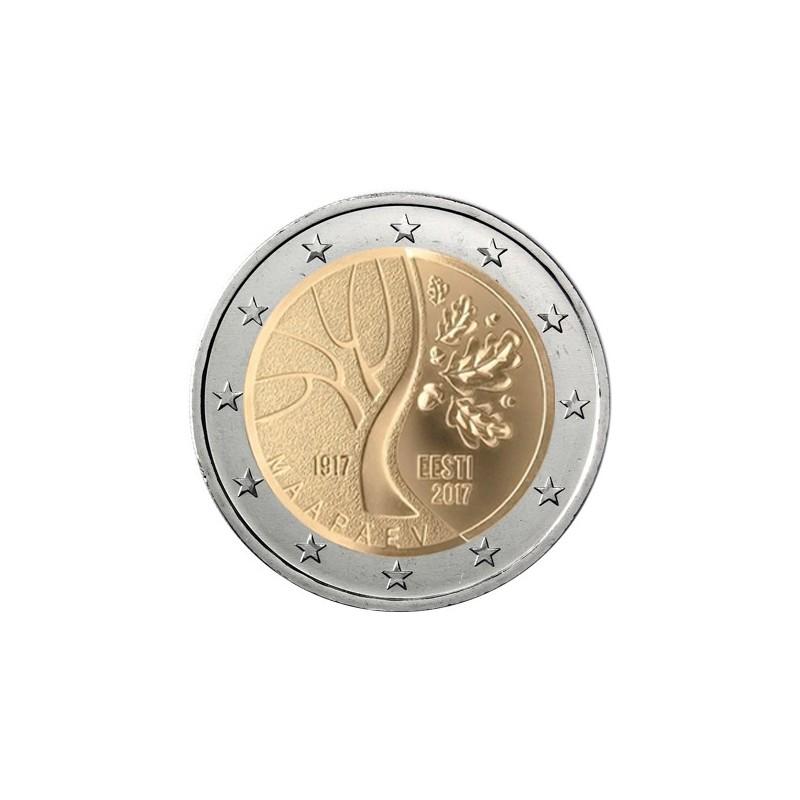 Estonia 2017 - 2 euro commemorativo cammino dell'Estonia verso l'indipendenza.