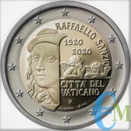 Vaticano 2020 - Prevendita 2 euro 500° morte Raffaello Sanzio