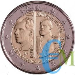 2 euro 200° nascita Granduca Guglielmo III