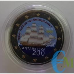 Estonia 2020 - 2 euro colorato 200° Antartide