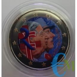 Francia 2020 - 2 euro colorato 50° morte Charles de Gaulle
