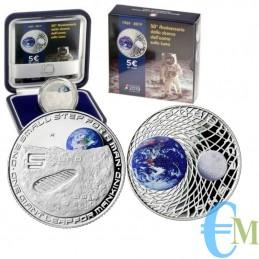 5 euro 50° Anniversario dello sbarco dell'uomo sulla Luna