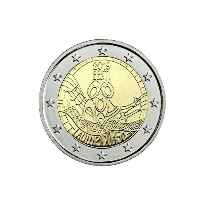 Estonia 2019 - 2 euro commemorativo 150° anniversario del primo festival della canzone estone.