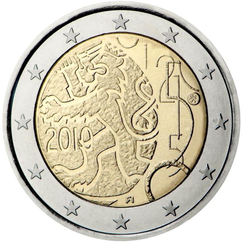Finlandia 2010 - 2 euro commemorativo 150° anniversario della zecca finlandese
