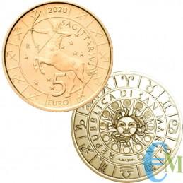 San Marino 2020 - 5 Euro Zodiac Sagittarius