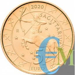 San Marino 2020 - 5 Euro Zodiaco Sagittario dritto