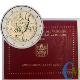 Vaticano 2008 - 2 euro San...