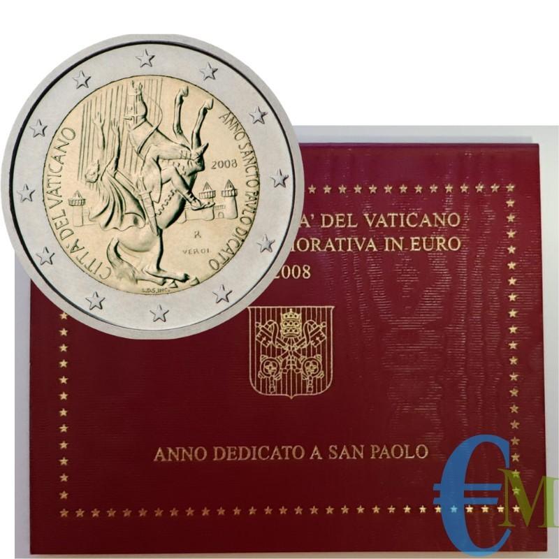 Vaticano 2008 - 2 euro Anno di San Paolo