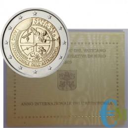 Vaticano 2009 - 2 euro Anno internazionale dell'Astronomia