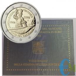 Vaticano 2006 - 2 euro 500° della Guardia Svizzera