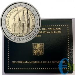 Vaticano 2005 - 2 euro Giornata della Gioventù G.M.G Colonia