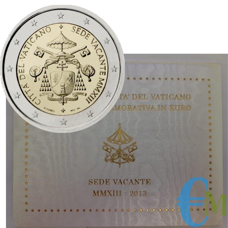 Vaticano 2013 - 2 euro Sede Vacante