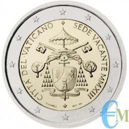 Vaticano 2013 - 2 euro Sede Vacante moneta