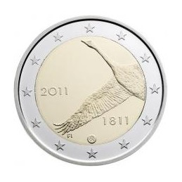Finlandia 2011 - 2 euro commemorativo 200° anniversario della banca finlandese