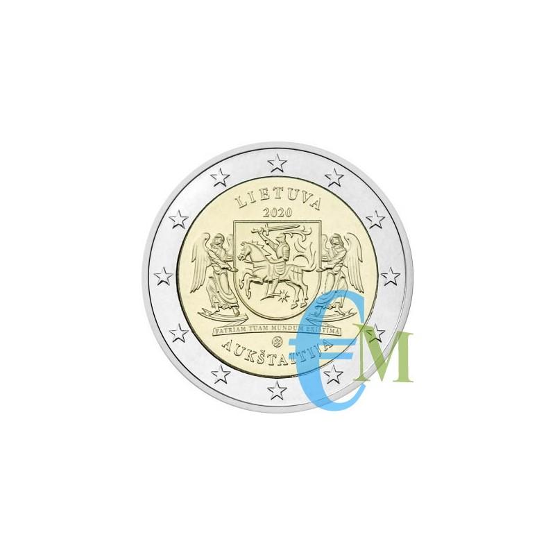 Lituania 2020 - 2 euro commemorativo Regioni Della Lituania Aukstaitija.