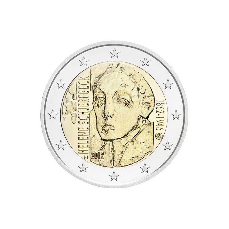 Finland 2012 - 2 euro 150th birth of Helene Schjerfbeck