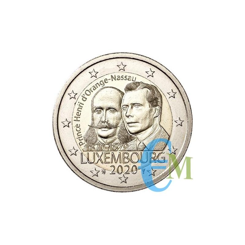 Lussemburgo 2020 - 2 euro 200° nascita Enrico di Orange-Nassau