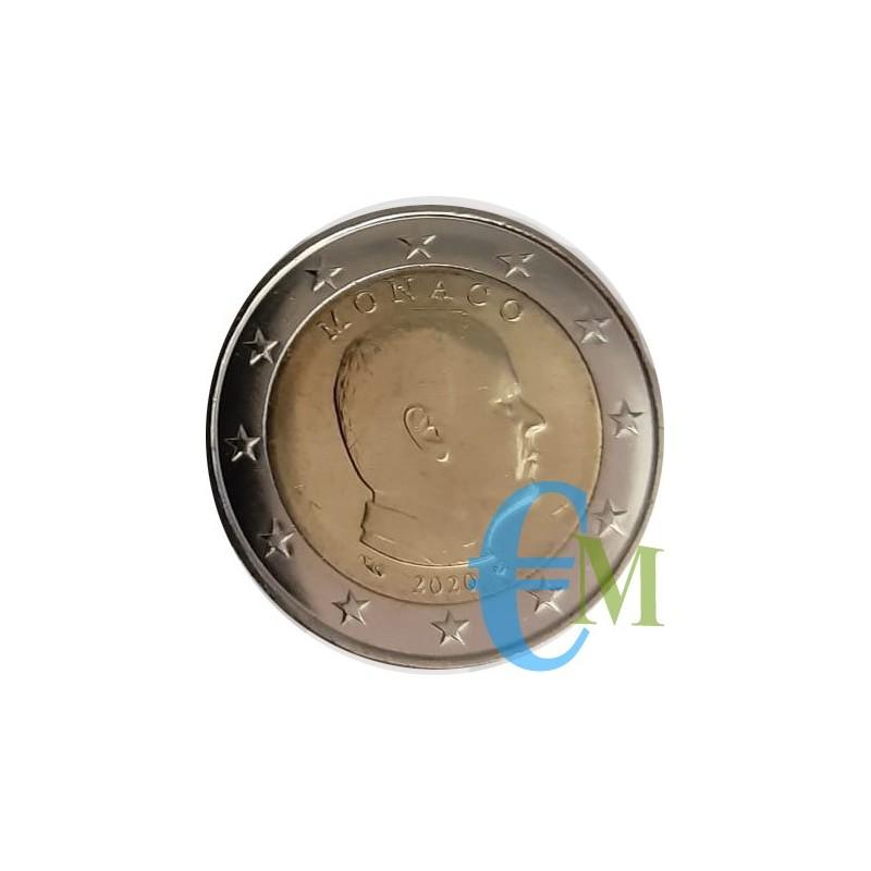Monaco 2020 - 2 euro emesso per la circolazione