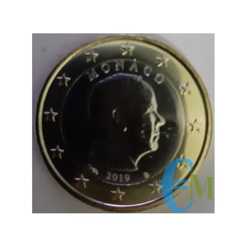 Monaco 2019 - 1 euro emesso per la circolazione