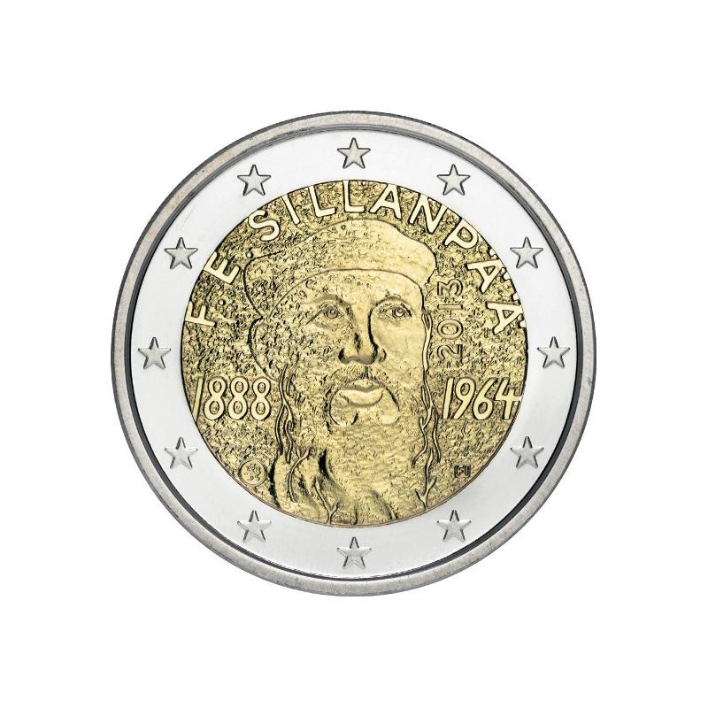 Finlandia 2013 - 2 euro commemorativo 125° anniversario della nascita di Frans Eemil Sillanpaa