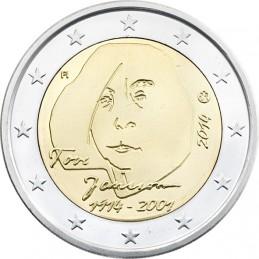 Finlandia 2014 - 2 euro commemorativo 100° anniversario della nascita di Tove Jansson