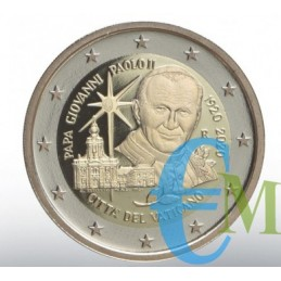 Vaticano 2020 - 2 euro Proof 100° San Giovanni Paolo II moneta