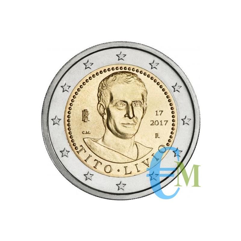 Italia 2017 - 2 euro 2000° morte Tito Livio