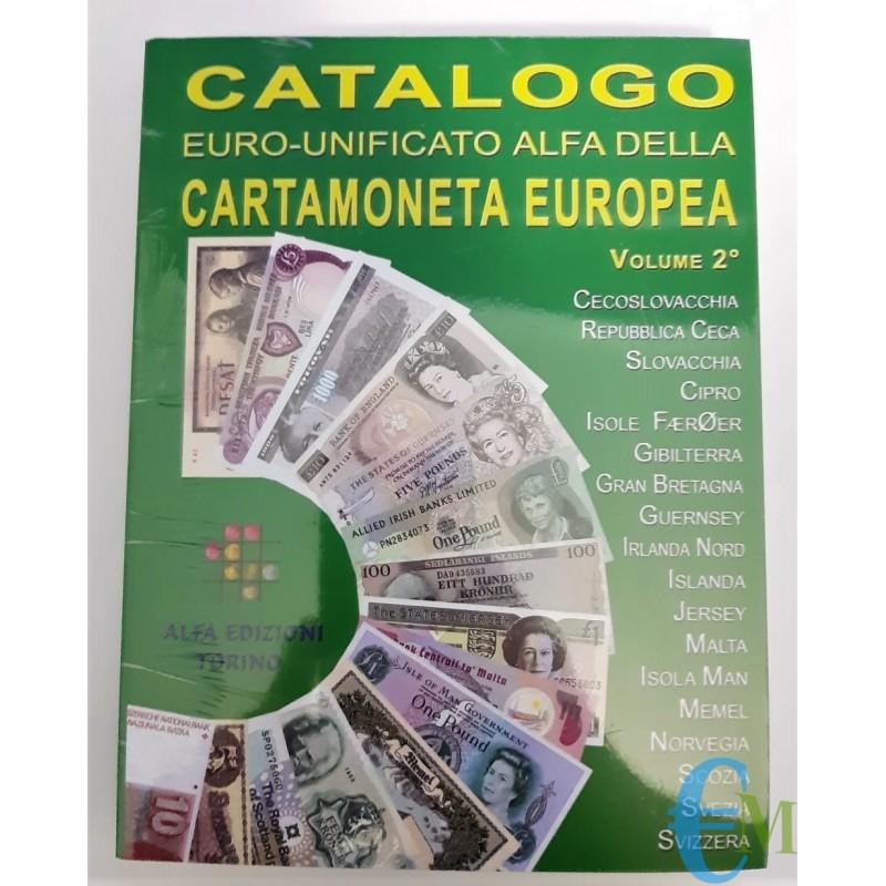 Catalogo Alfa della Cartamoneta Europea 2° volume