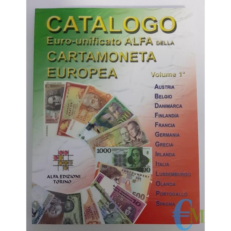 Catalogo Alfa della Cartamoneta Europea 1° volume