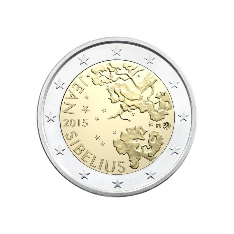 Finlandia 2015 - 2 euro commemorativo 150° anniversario della nascita di Jean Sibelius