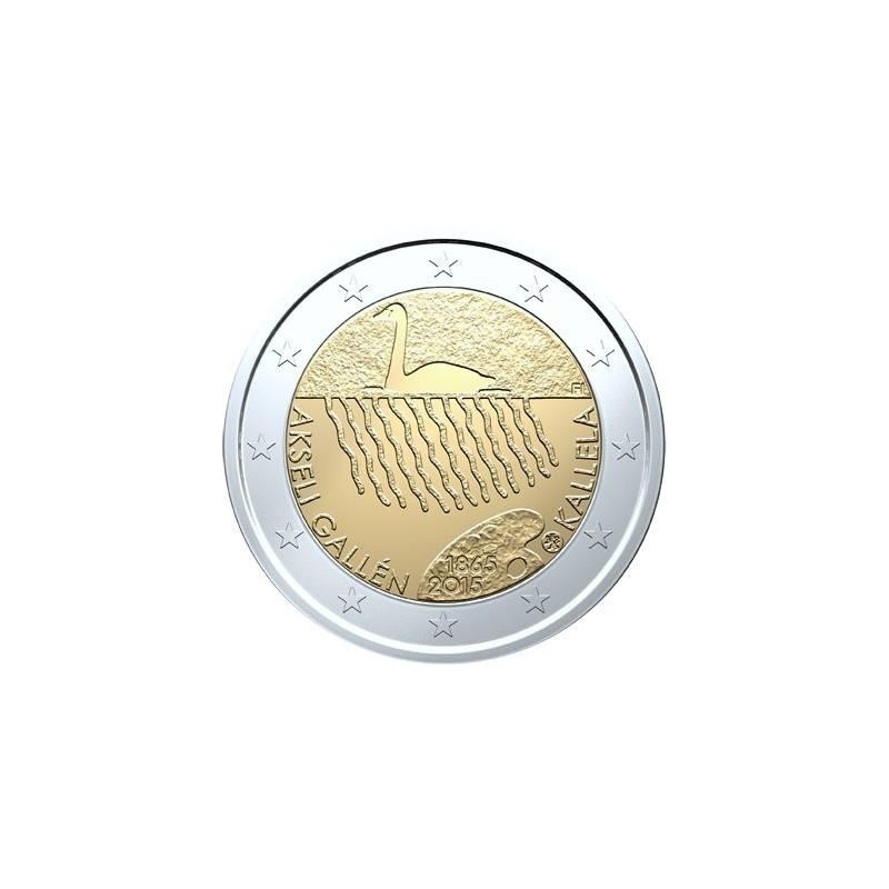 Finlandia 2015 - 2 euro commemorativo 150° anniversario della nascita di Akseli Gallen-Kallela