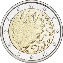 Finlandia 2016 - 2 euro commemorativo 90° anniversario della morte di Eino Leino