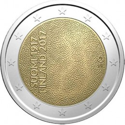 Finlandia 2017 - 2 euro commemorativo 100° anniversario dell'Indipendenza della Finlandia.