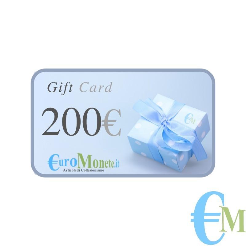 Buono regalo da 200€