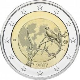 Finlandia 2017 - 2 euro finlandés naturaleza