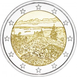 Finlandia 2018 - 2 euro commemorativo parco di Koli.