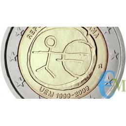 2009 - Lotto annata 2 euro EMU 10° Anniversario Euro