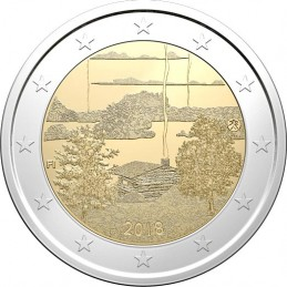 Finlande 2018 - 2 euros culture sauna