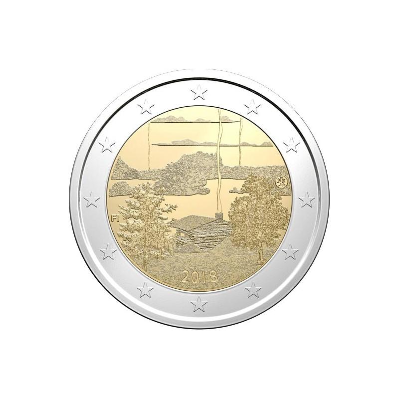 Finlandia 2018 - 2 euro commemorativo cultura della sauna.